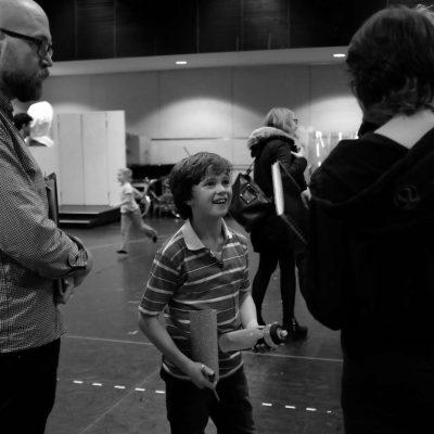 1311 BTS Haydn May (Billy Elliot) photo by Jonny Ruff