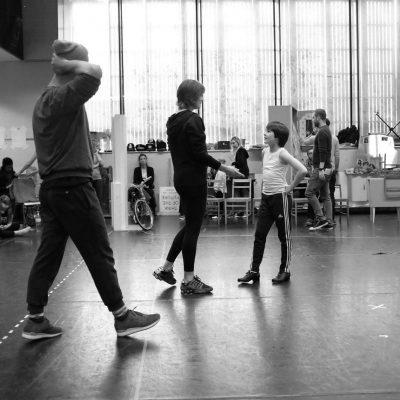 133 BTS Matthew Lyons (Billy Elliot) photo by Jonny Ruff