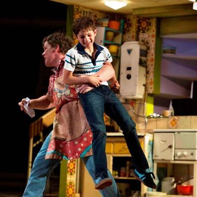 Elliott Hannah (Billy Elliot) photo by Alastair Muir