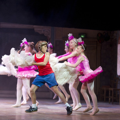 Redmand Rance (Billy Elliot) and Ensemble photo by Alastair Muir