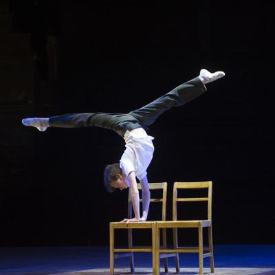 Nat Sweeney (Billy Elliot) chair by Alastair Muir