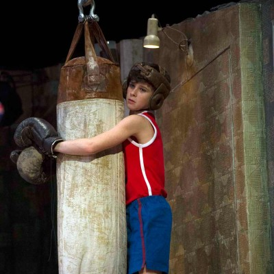 Brodie Doningher (Billy Elliot) photo by Alastair Muir