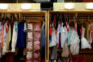 Billy Elliot Wardrobe rail
