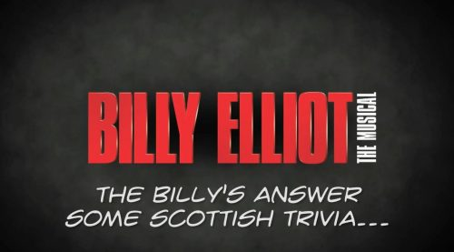 Scottish trivia with the tour Billys